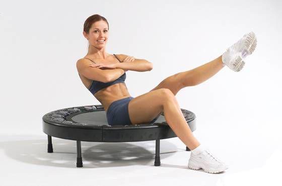 Москва - фитнес на батуте для похудения