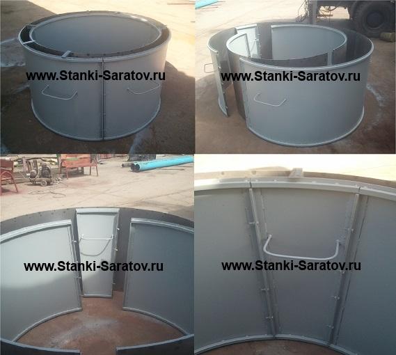 оснастка для изготовления бетонных колец
