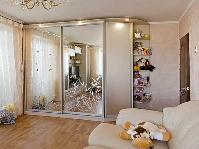 Дизайн шкафа купе с зеркалами фото