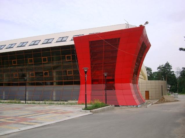фасады зданий из керамогранита фото