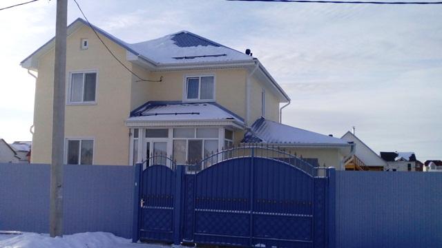 дом из поревита