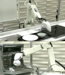 Роботы для дома. Обот мойщик посуды