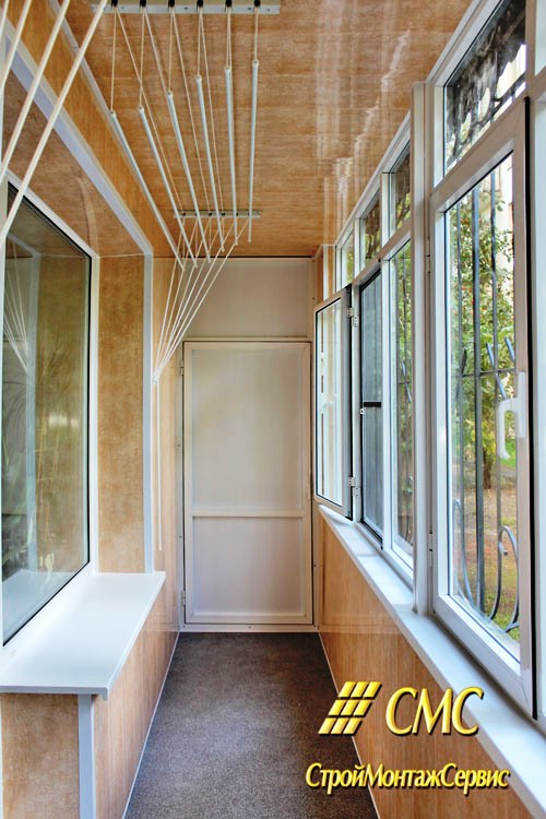 Внутренняя и внешняя отделка балконов и лоджий статья на биз.