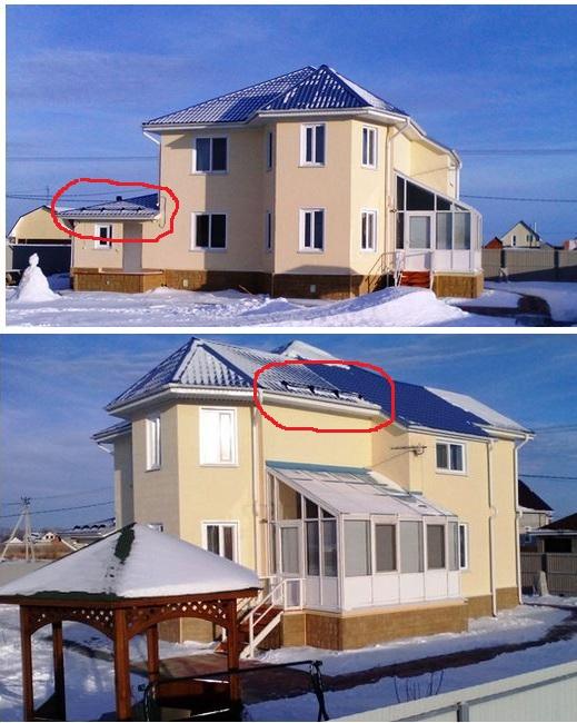 нужны ли снегозадержатели на крыше дома